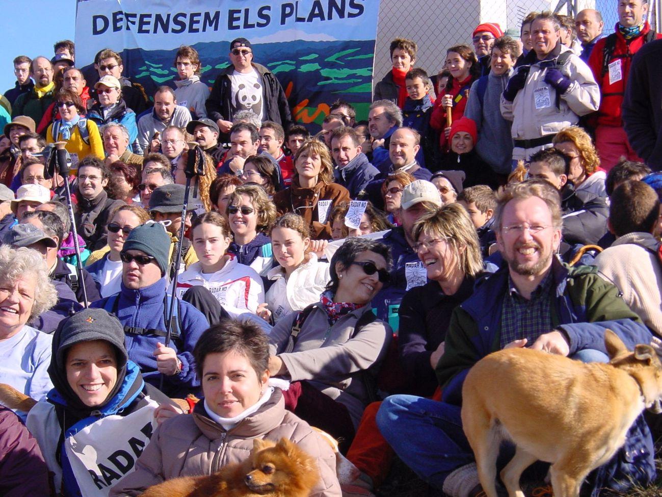 Radar No. Manifest a la Serra Els Plans