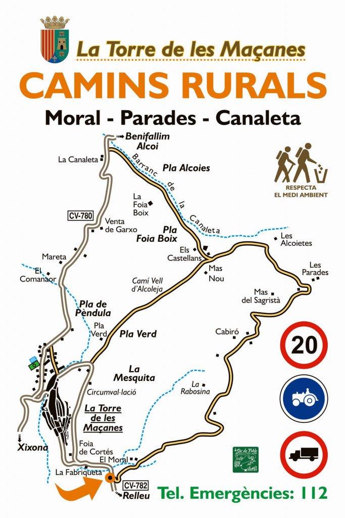 Camins Rurals de La Torre de les Maçanes