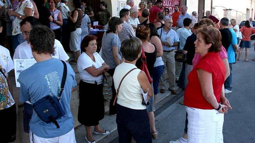 La plataforma del plan eólico insta a los alcaldes a exigir información al Consell