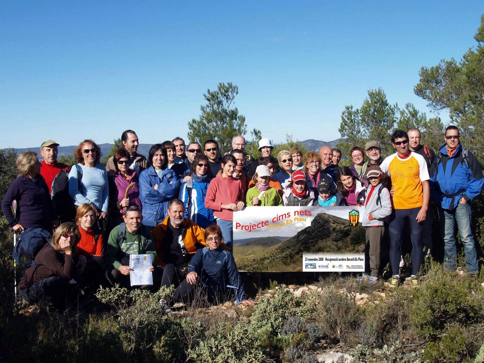 Excursió Projecte Cims Nets del C. Exc. d'Alcoi