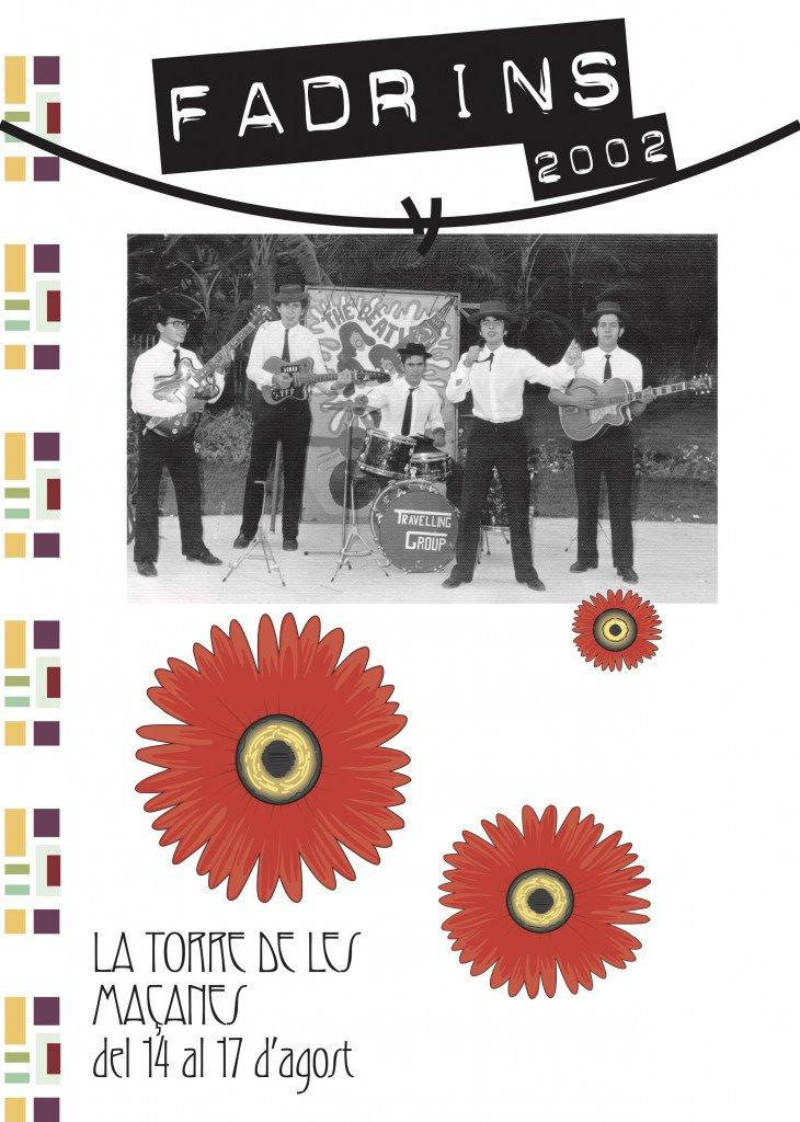 Llibre de Festes de Fadrins 2002 a La Torre de les Maçanes