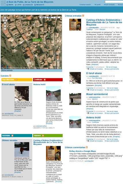 Un espai public geolocalitzat per a La Torre