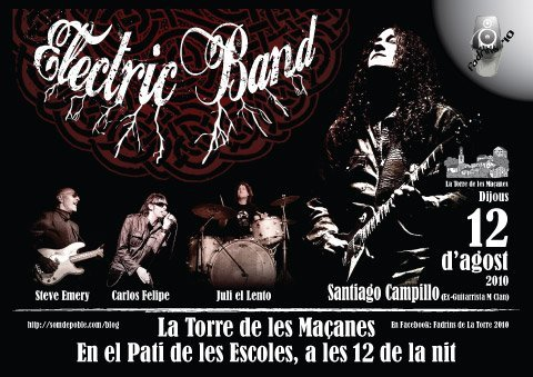 La Senyal + Santi Campillo & The Electric Band en la Festa dels Fadrins!
