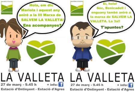III Marxa Reivindicativa de Salvem La Valleta