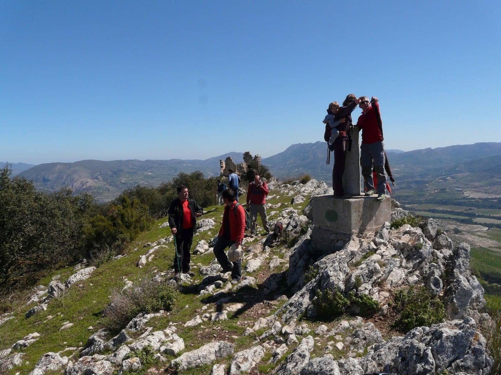 Fotos de l'excursió al poblat iber de La Serreta