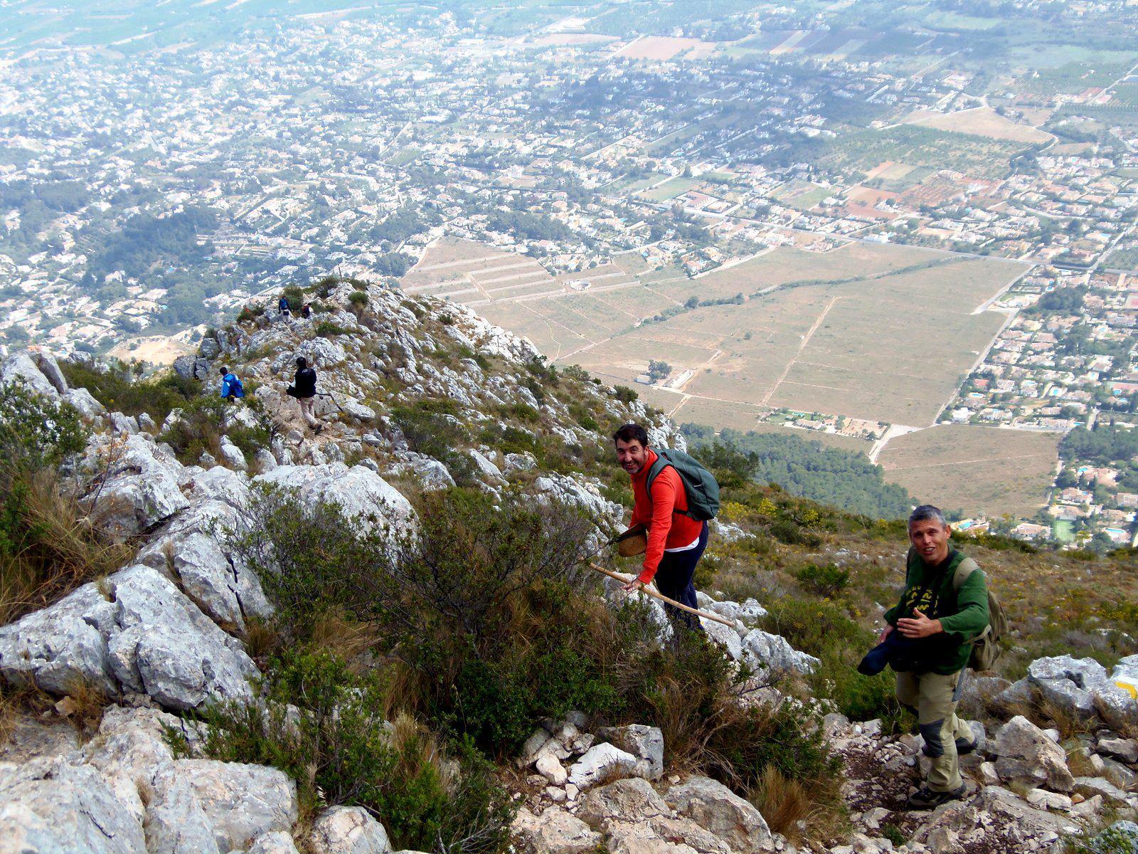 Fotos de l'excursió al Montgó, 19 de maig de 2012