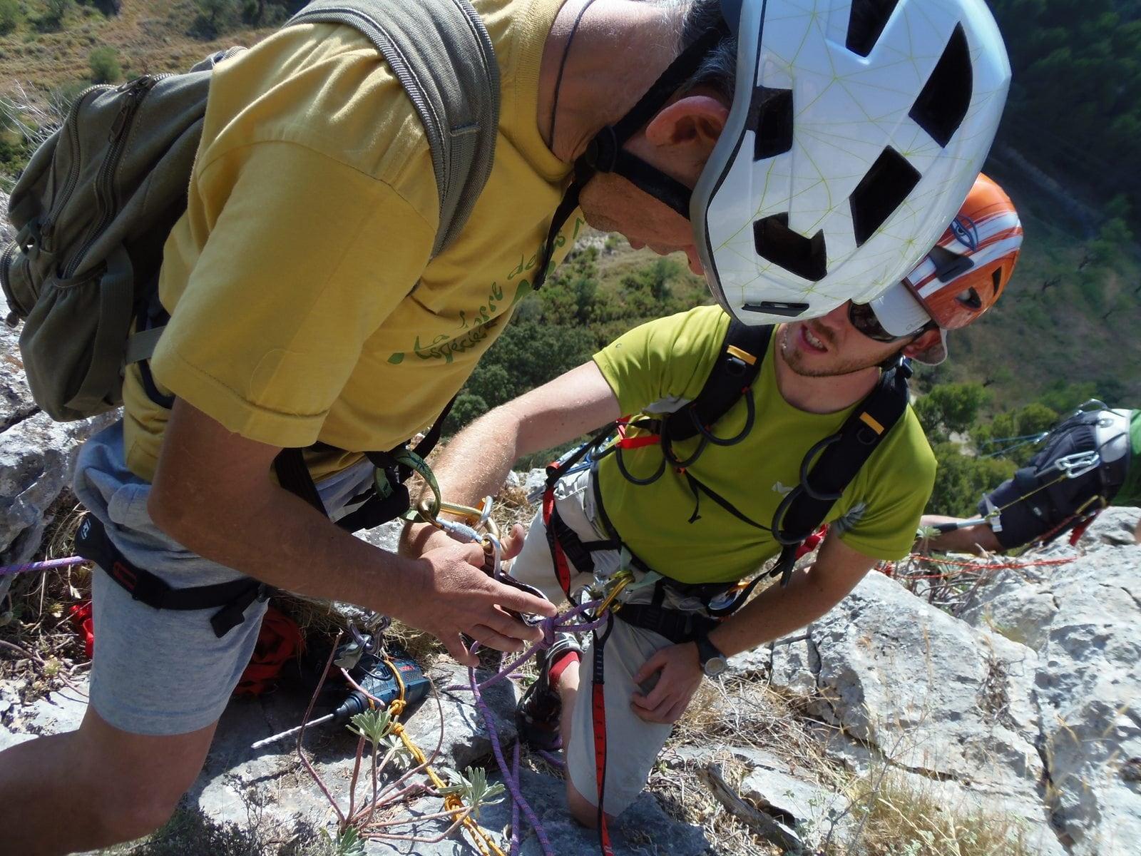Iniciació a l'escalada a La Torre