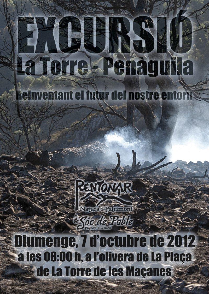 Excursió 7 d'octubre. La Torre – Benifallim – Penàguila