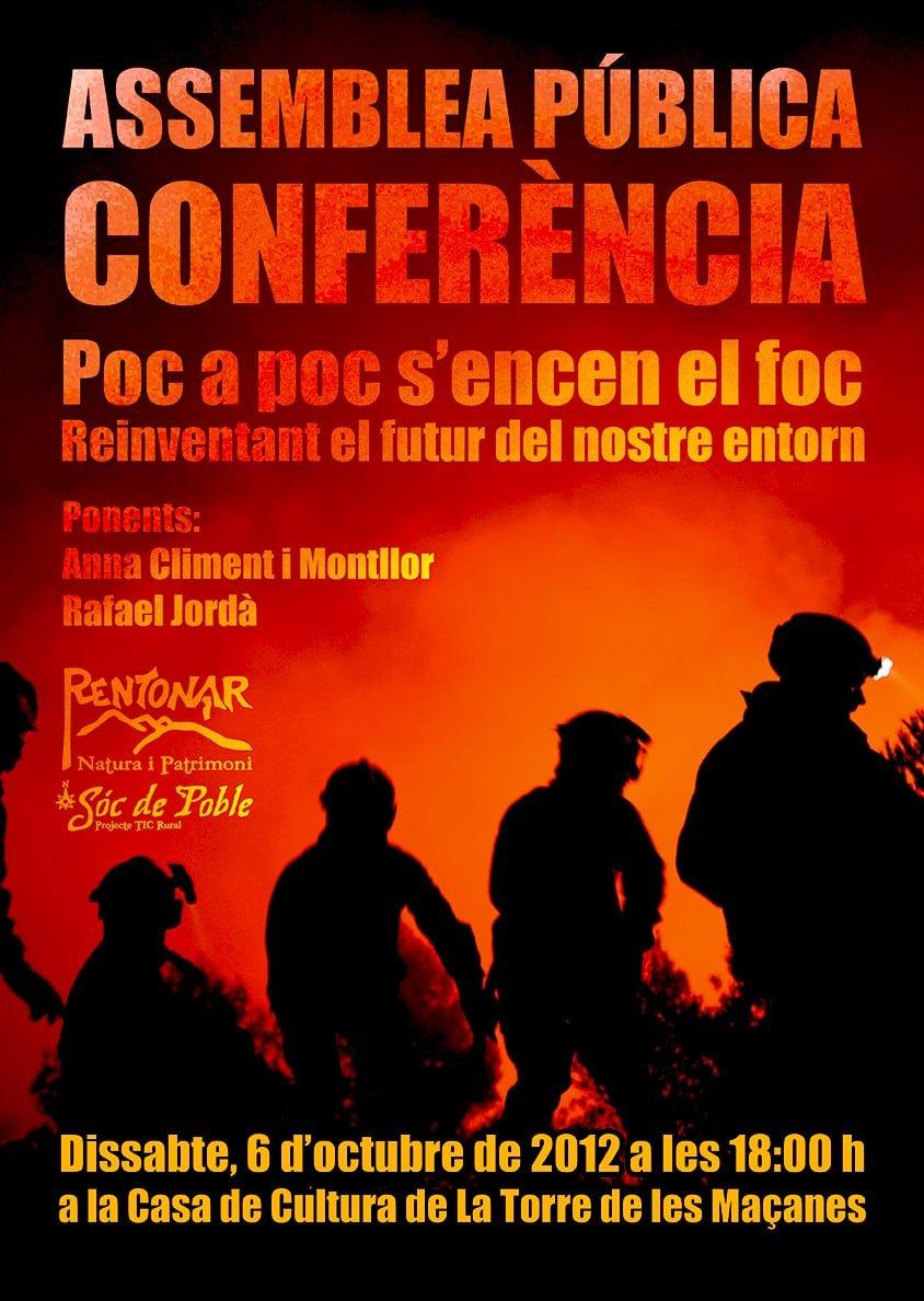 Assemblea Pública – Conferència. Dissabte, 6 d'octubre