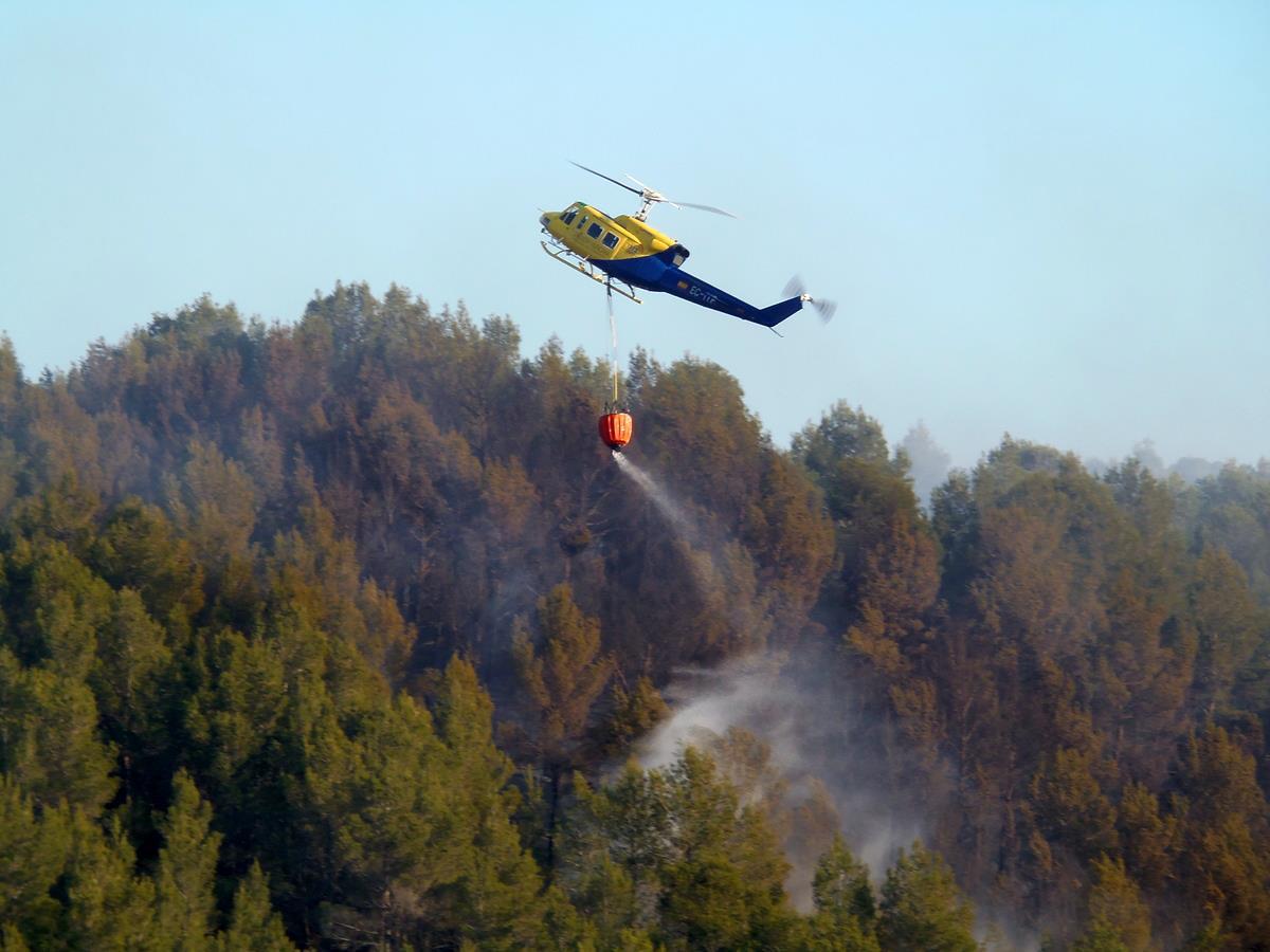 Els propietaris no pagaran per l'extinció dels incendis forestals