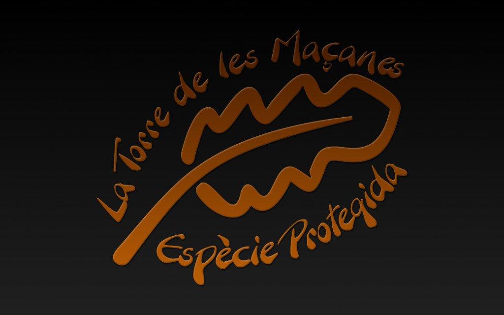 Logo La Torre de les Maçanes, Espècie Protegida