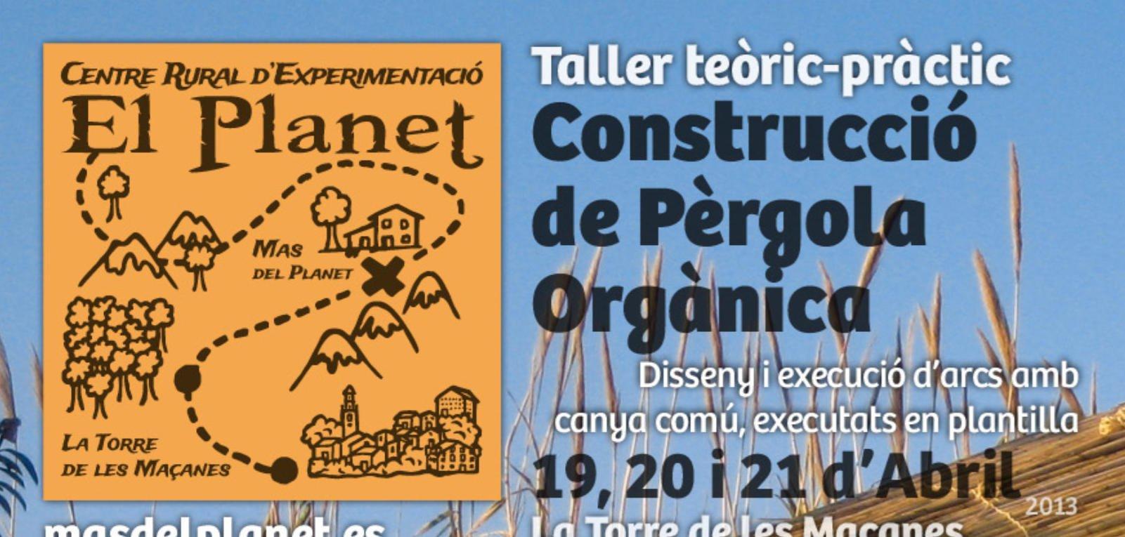 Taller de Construcció de Pèrgola Orgànica