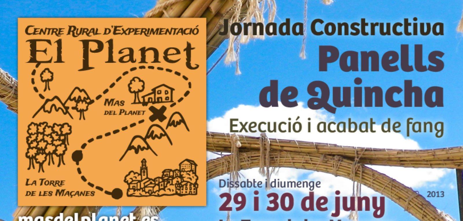 Jornada Constructiva de Panells de Quincha