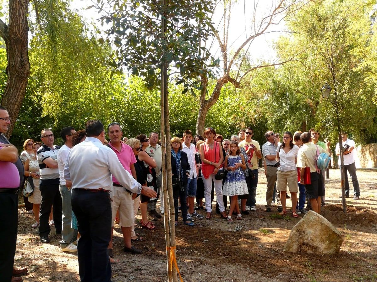 Homenatge de l'Ajuntament de La Torre a les víctimes de l'incendi d'agost de 2012