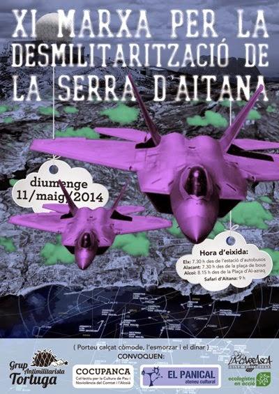 XI Marxa per la desmilitarització de la Serra d'Aitana