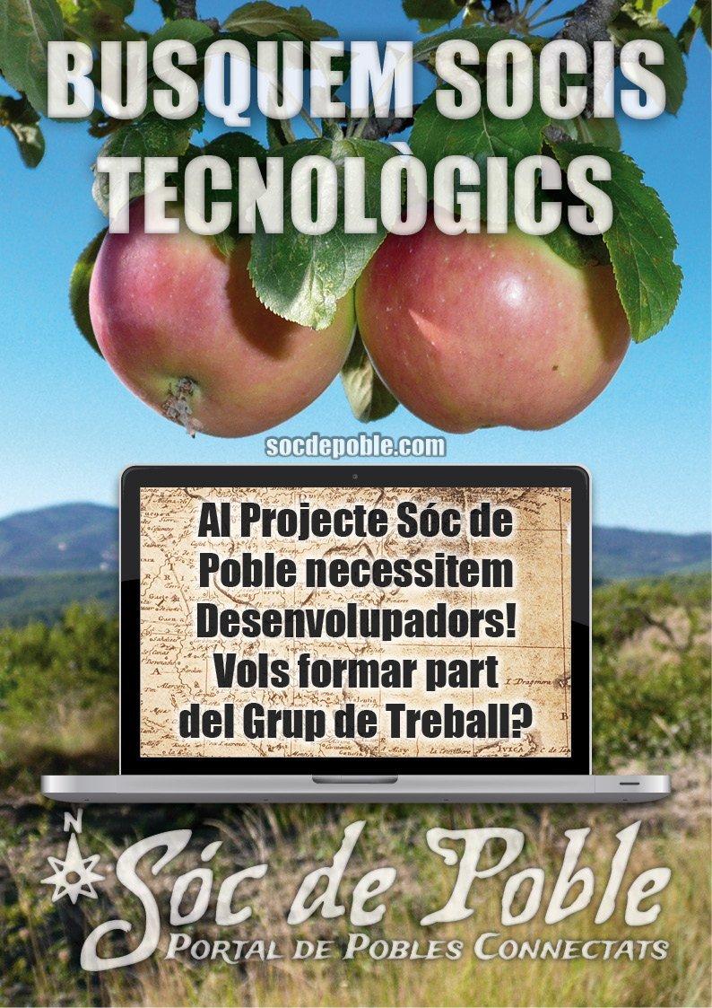 Busquem Socis Tecnològics