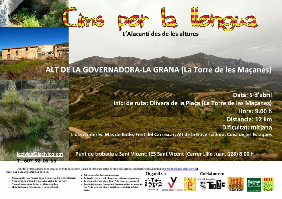 Cims per la llengua. Serra La Grana