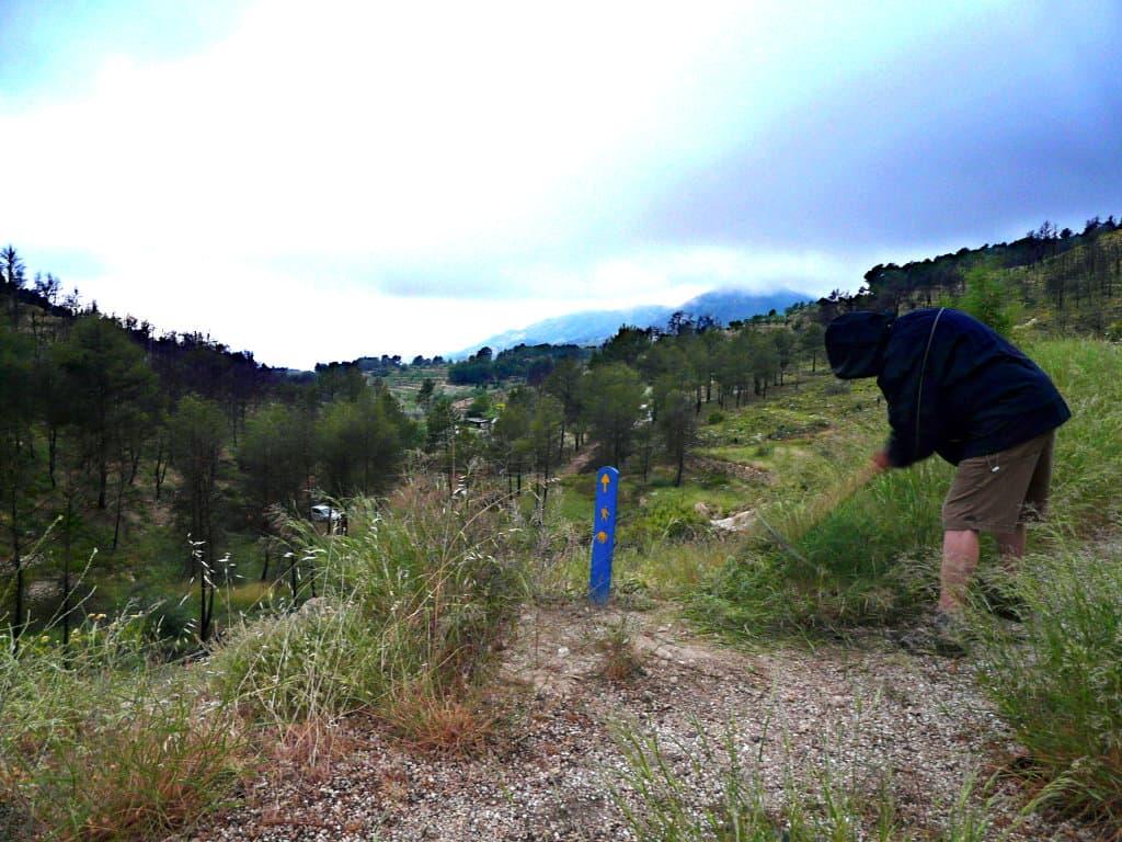 Remarcant el Camí de Santiago a La Torre de les Maçanes