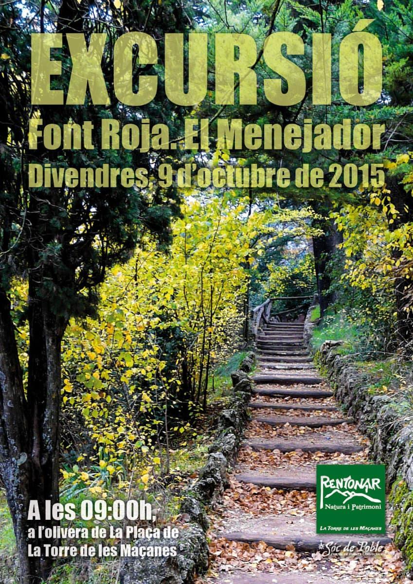 El 9 d'octubre passegem per La Font Roja