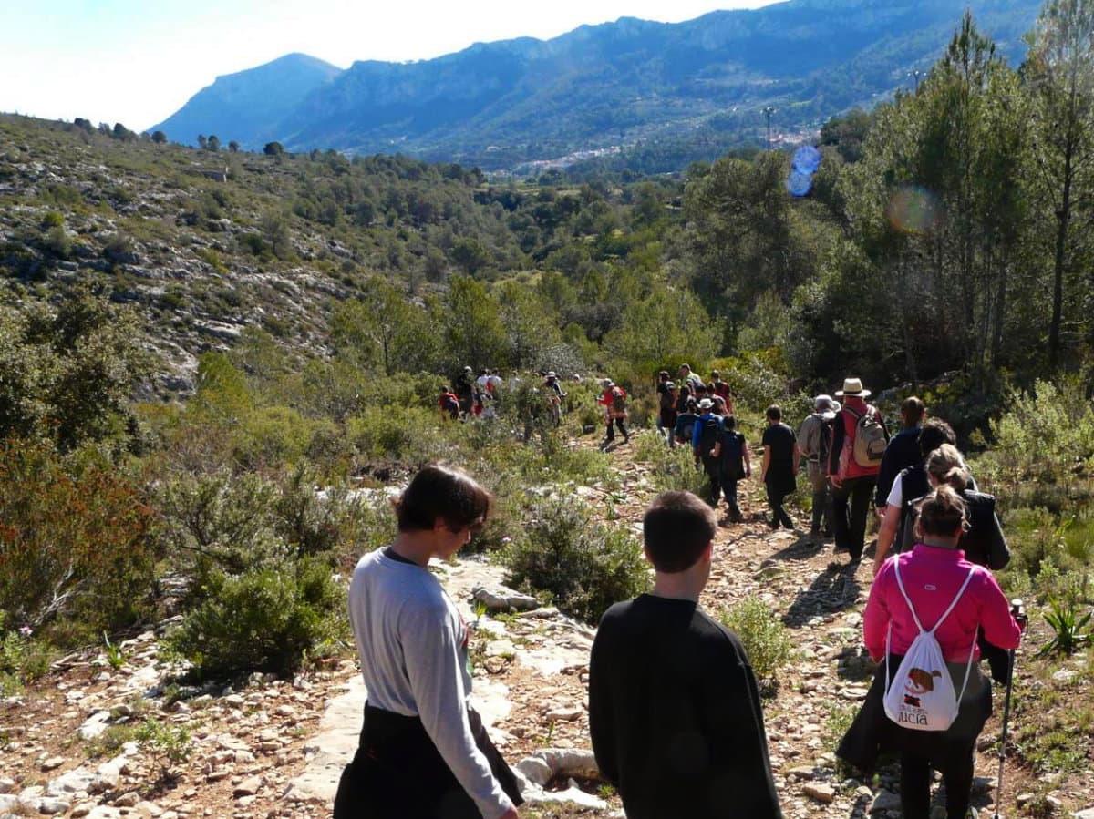 El Camí. La Vall de Gallinera, Marina Alta