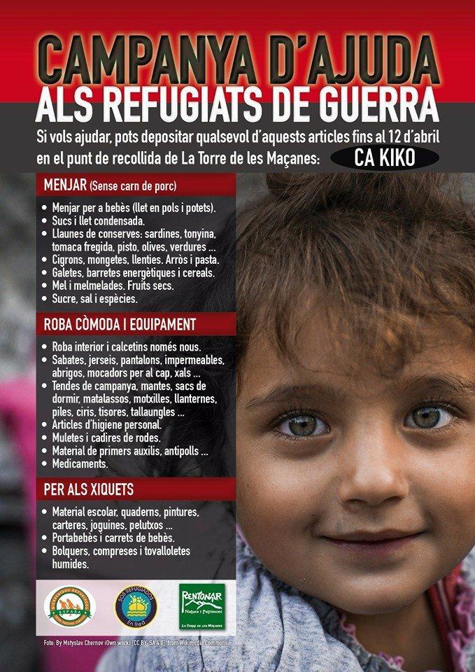 Ajuda als refugiats