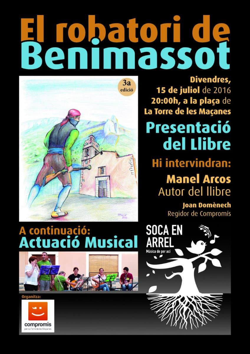 Presentació del llibre El robatori de Benimassot