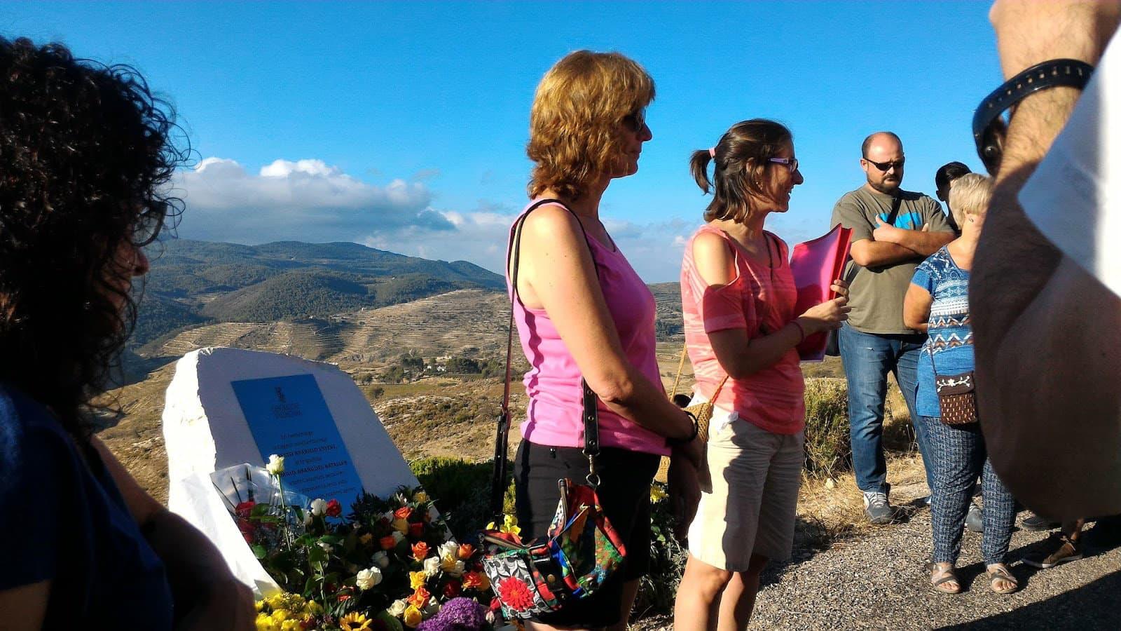 Homenatge als qui han donat la vida en la lluita contra els Incendis Forestals