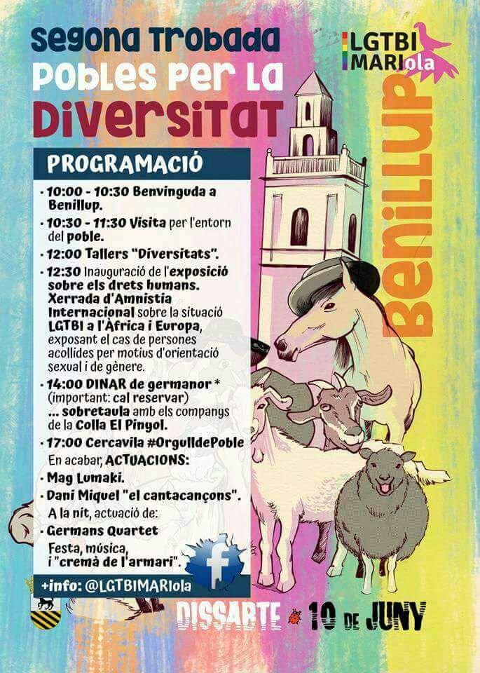 II Trobada de Pobles per la Diversitat. Benillup