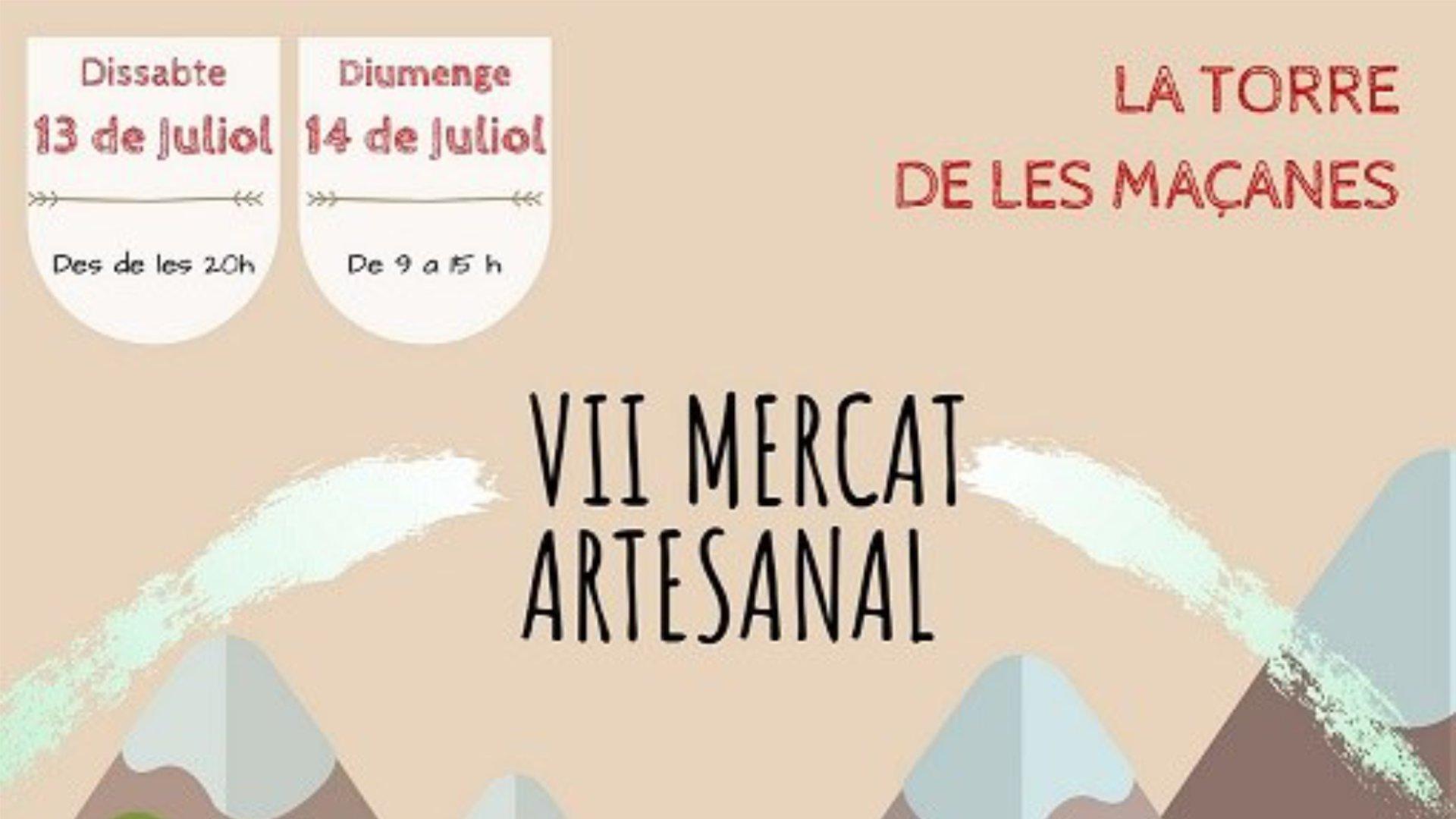 Mercat Artesanal La Torre de les Maçanes 2019