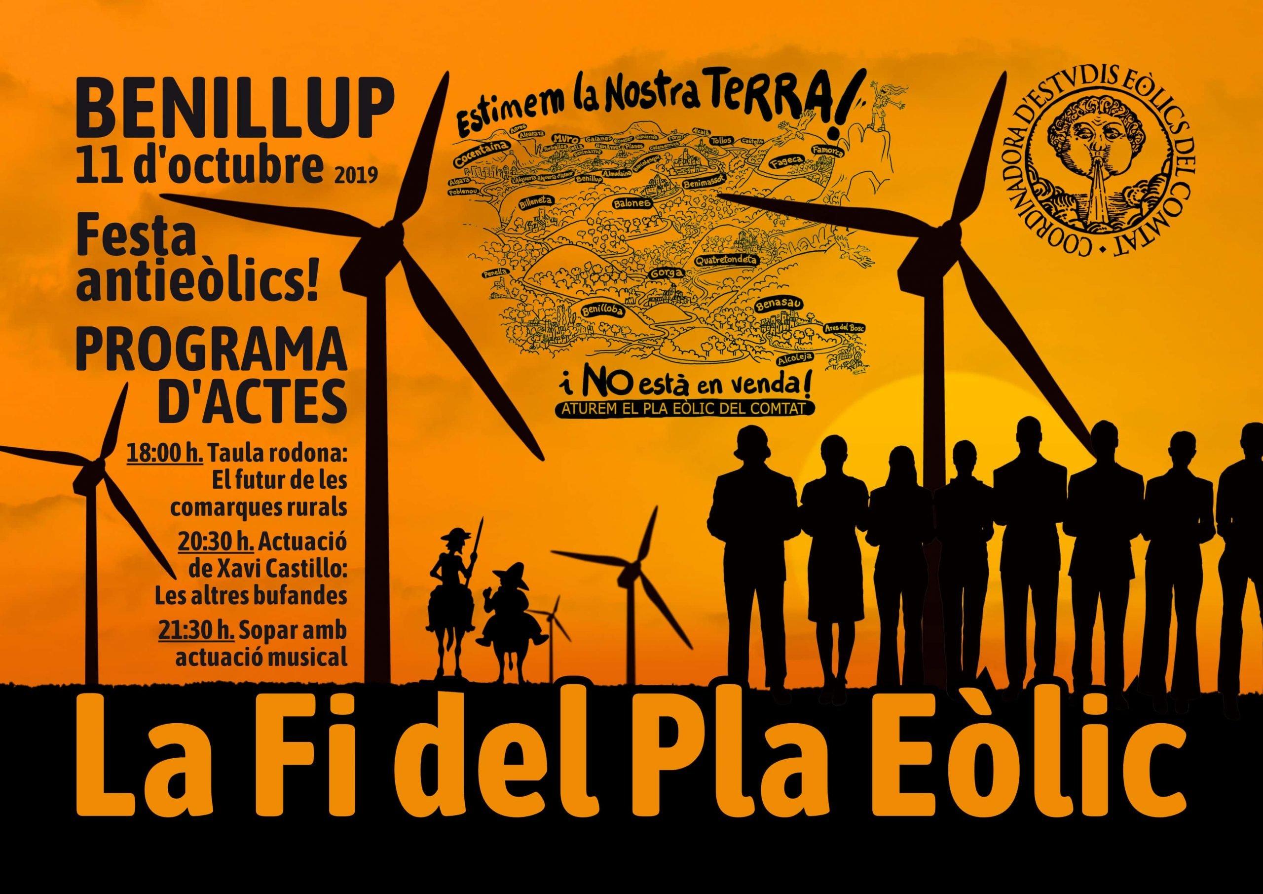 Festa fi del pla eòlic de la zona 14