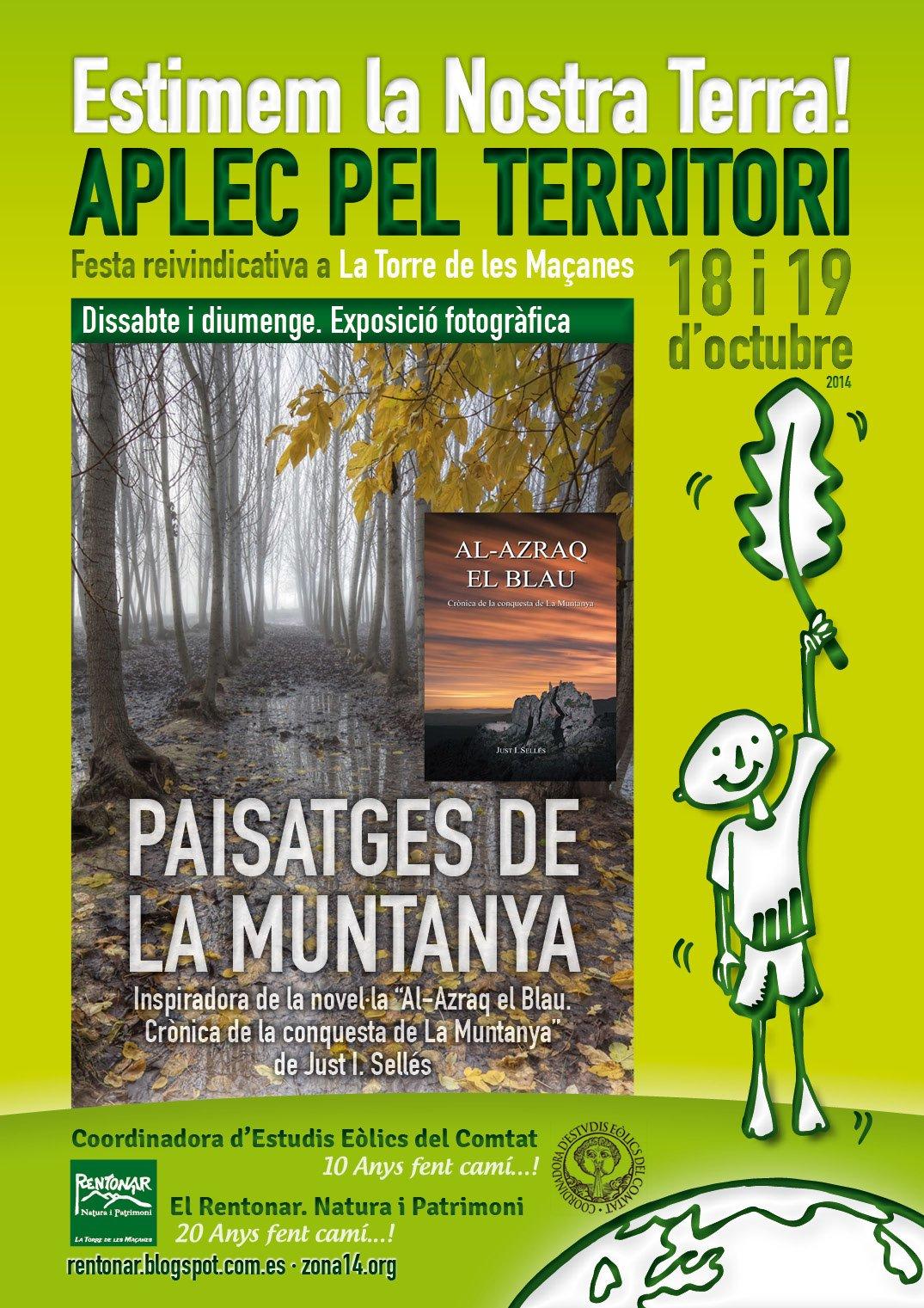 Exposició Fotogràfica a l'Aplec pel Territori. Paisatges de la Muntanya
