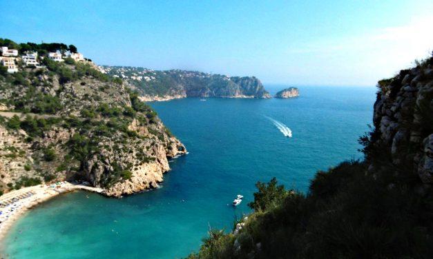 Caminada per la Marina Alta; de la platja de la Granadella a Moraira