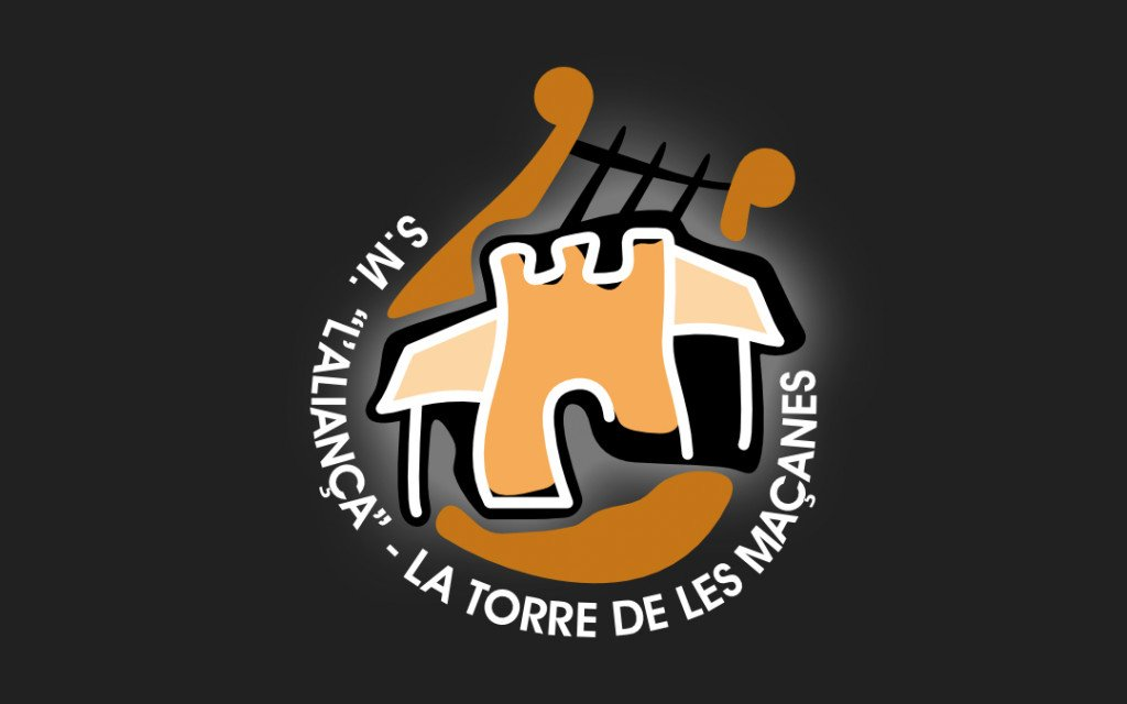 Logo Societat Musical l'Aliança de La Torre de les Maçanes