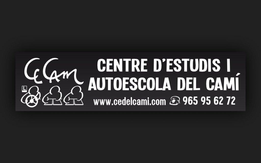 Logo Centre d'Estudis i Autoescola del Camí