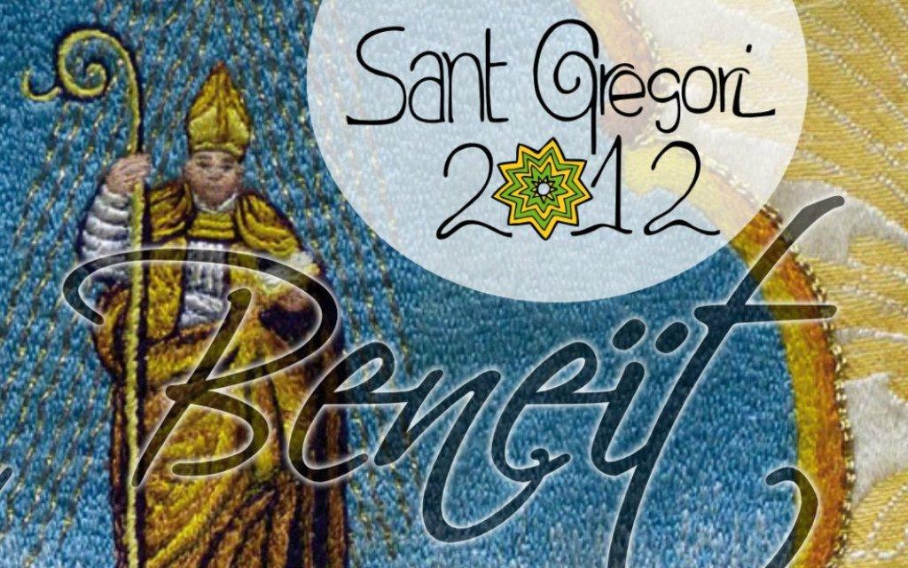 Portada del Llibre de Festes de Sant Gregori 2012
