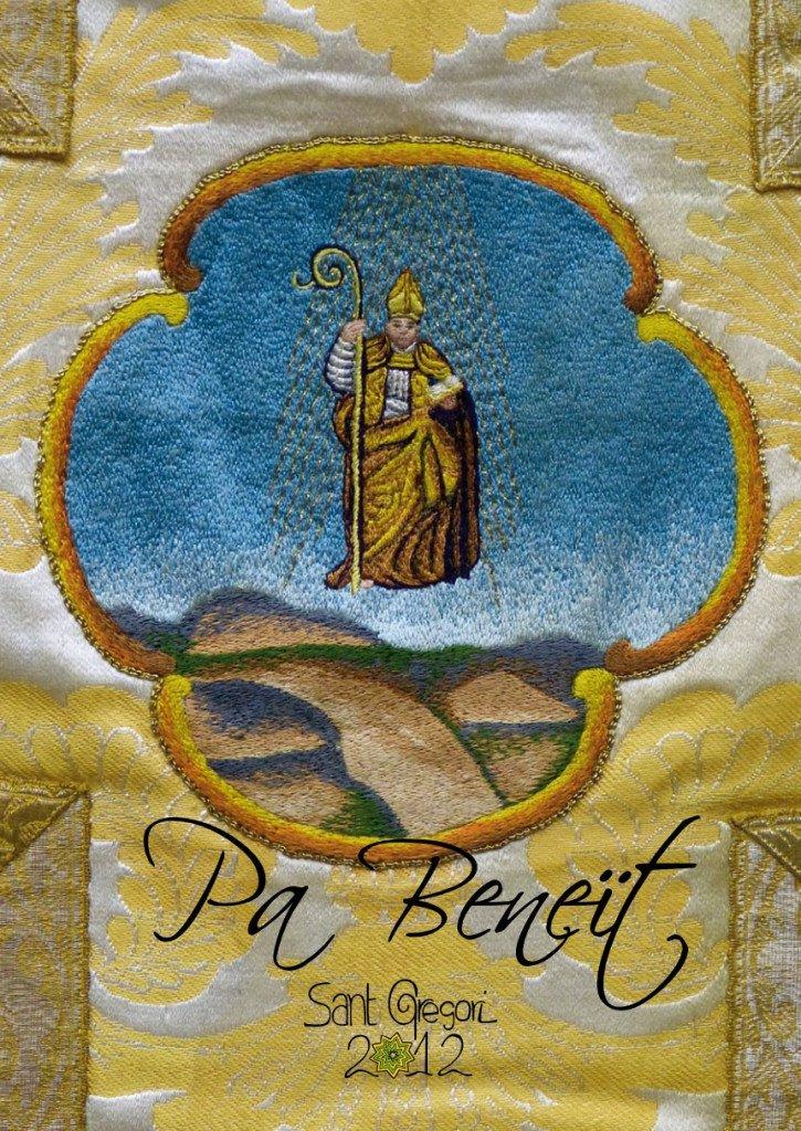Portada Llibre de Festes de Sant Gregori 2012