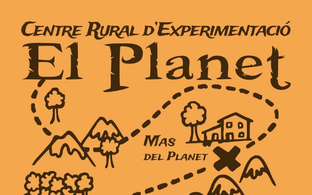 Logo Projecte del Mas del Planet, Centre Rural d'Experimentació